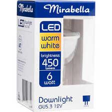 Mirabella LED GU5.3 DOWNLIGHT 6W 12V 450-Lumens, Warm White *Australian Brand