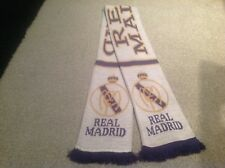 REAL MADRID SUPPORTERS SCARF.SANTIAGO BERNABEU STADIUM ..FREE POST