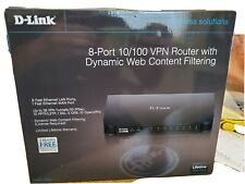 D-Link DSR-150 8 port 10/100 VPN router with Dynamic Web Content Filtering