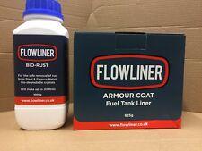 Flowliner Petrol Tank Sealer And Bio rust Remover
