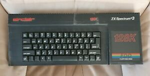Sinclair ZX Spectrum 128k +3 with Floppy Disc Drive, Made in Taiwan.