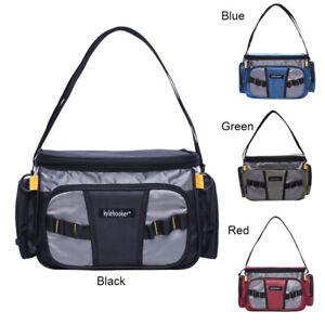 Fishing Season Waterproof Carry Bag Tackle Storage Bag Waist Shoulder Pack Box
