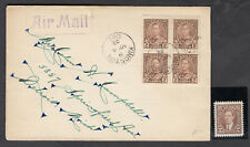 1935 #212 2¢ KING GEORGE V SILVER JUBILEE  FIRST DAY COVER F-VF + MINT STAMP