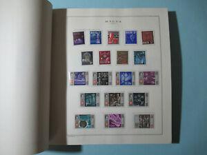MALTA 1964-88 COLLEZIONE COMPLETA NUOVA MNH SU FOGLI +ALBUM MARINI 95 FOTO LOTTO