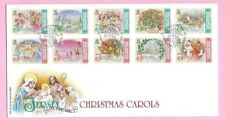JERSEY Post 2007 - FDC - CHRISTMAS Carols - Special Handstamp