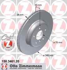 2 x BS BMW (Vollguss) Coat Z ZIMMERMANN 150.3461.20 für BMW: 3421 6 763 827