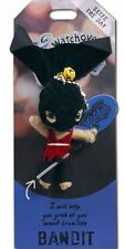 """Watchover VOODOO DOLL Keychain, BANDIT, Seize The Day, 3"""" Tall"""