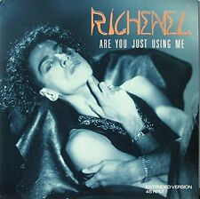 RICHENEL are you just using me (1989) VINILE []