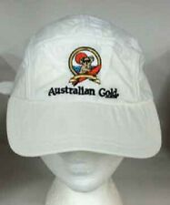 Australian Gold Brand White Baseball Style Hat with Koala Logo