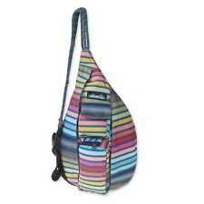 KAVU Mini Rope Sling Bag Crossbody Shoulder Polyester Backpack - Chroma Stripe