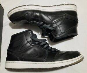 Nike Air Jordan 1 Retro Mid  Mens Size 11.5 Nouveau 'Black Ice' Anti Gravity