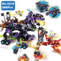 Enlighten 2216 Soul Hunter War Evil Unicorn Monster Robot Building Blocks Toy