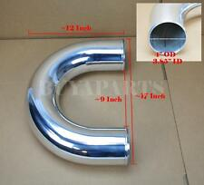 "4"" Inches OD U-Bend Aluminum Turbo Intercooler Piping Tube Polished"