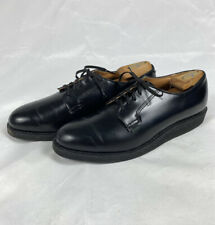 Red Wing 101 Heritage Work Postman Oxfords Black Chaparral Mens Shoes Size 11 B
