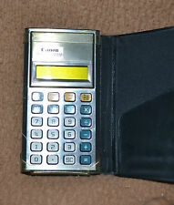 Calcolatrice Canon Palmtronic LC-81M, Vintage, Japan, Calculator