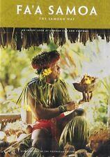 FA'A SAMOA DVD THE SAMOAN WAY BRAND NEW SEALED