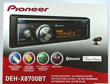 PIONIER DEH-X8700BT AUTORADIO MIT CD-TUNIER,BLUETOOTH,USB,AUX,MIKROFON,1DINGerät