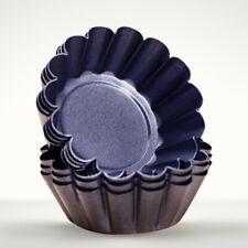 12pcs Mini Carbon Steel Tart Pans Cupcake Egg Reusable Baking Mold Muffin Cup
