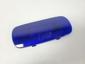 Blue Oval Dome Light Lens for 2006+ Peterbilt 379/378/357/385/389 Upper Center