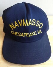 U.S. NAVY MANAGEMENT SYSTEM SUPPORT OFFICE BASEBALL CAP HAT, CHESAPEAKE, VA, NEW