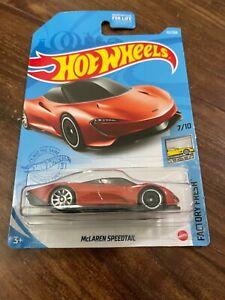 Hot Wheels Factory Fresh McLaren Speedtail - Orange