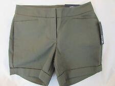 "Ladies ""Apt 9"" Size 14, Grape Leaf (Green), Mid Rise, City Short Shorts"