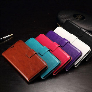 NEW Leather ID Wallet Frame Case Cover Samsung Galaxy S6 Edge/S6/S5