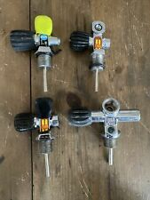 4x Oms Sherwood Tank Valves Assembly Scuba Diving, Paintball, Equipment