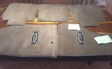 LLOYD MATS 3pc FLOOR MAT SET with Cowgirl Up logos  DODGE RAM 1500 Truck