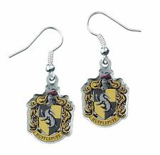 Harry Potter Hufflepuff Crest Earrings