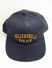 MILLERSVILLE PA POLICE Hat Snapback Baseball Cap Pennsylvania Blue Trucker