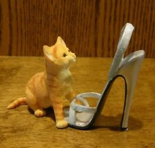 KITTEN HEELS #CA00245 HEIDI, From Country Artists NEW From Retail Store, Enesco