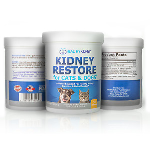 Kidney Restore Supplement Cats Dogs Pets Renal Feline Canine 3 Pack