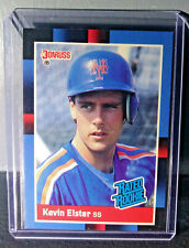 1988 Kevin Elster Donruss Rated Rookie #37 Baseball Card