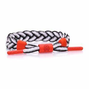 RASTACLAT Laser Grey Red Classic Jordan Nike Box Wristband Bracelet Jewelry NEW