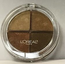Lot of 2 L'oreal Wear Infinite Eye Shadow Quad PRIMITIVE BRONZE 838