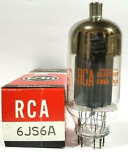 1  RCA 6JS6A  Vacuum Tube Tested NOS On Calibrated TV - 7 !!