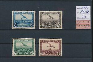 LN67750 Belgium 1930 airmail aviation airplanes fine lot MNH cv 23 EUR