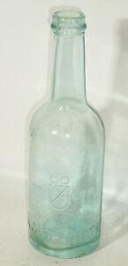 Alte Glasflasche Limo Wasser Kahlbaum seit 1818 Berlin Abriss !