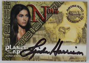 Inkworks Planet of the Apes Linda Harrison Autographed Card