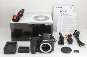 """EXCELLENT"" PENTAX K-5 16.3MP Digital SLR Camera Black Body Only #210206a"