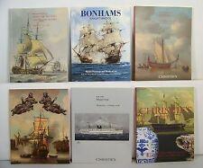 Lot 6 Christie's Maritime Paintings Works Of Art Models Auction Catalogs 33