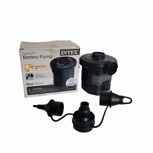 Intex Quick-Fill Battery Air Pump 6 C-cell Battery Required Max. Air Flow