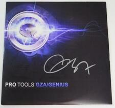 "GZA Genius WU TANG CLAN Signed Autograph ""Pro Tools"" Album Vinyl Record LP"
