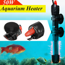 50W Fish Tank Water Heater  Automatic Emperature Control Aquarium Submersible