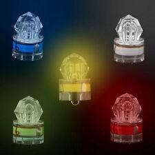 LED Fishing Light Deep Drop Underwater Diamond Shaped Flashing Lamp Bait LO