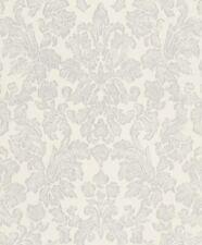 Rasch Vliestapete Pure Vintage 441413 Barock Ornament grau-silber-weiß