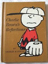 "Peanuts ""Charlie Brown's Reflections"" Hardback Hallmark Book by Charles M Schulz"