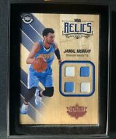 JAMAL MURRAY 2016-17 UPPER DECK HARD COURT SUPREME NBA RELICS QUAD JERSEY