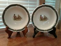 "Set Of 2 Noritake Marshlands Homecraft Soup/Cereal  Bowl 7 1/8"" Diam Excel Cond"